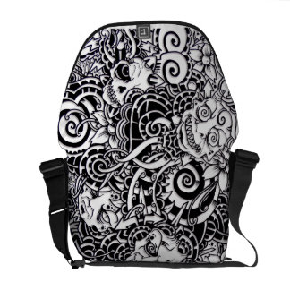 mzo graffiti, messenger bag