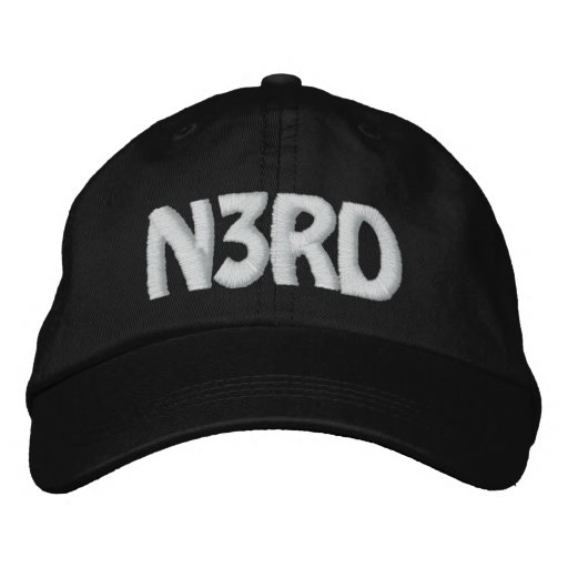 N3RD EMBROIDERED HAT