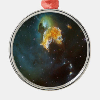 N63A Lady of the night sky Metal Ornament