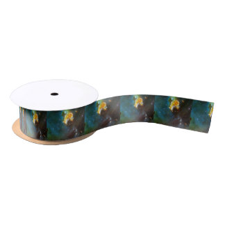 N63A Lady of the night sky Satin Ribbon