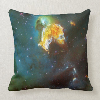 N63A Lady of the night sky Throw Pillow