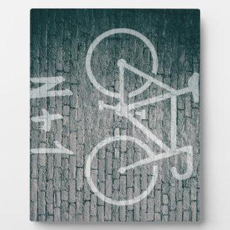 N+1 Bike Graffiti Plaque