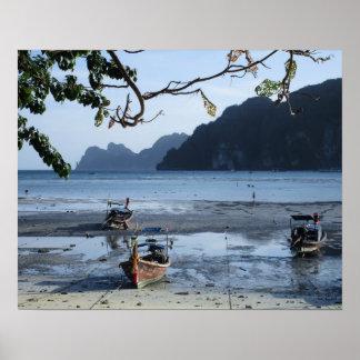 N°1 - Koh Phi Phi. Halt before the Tide Poster