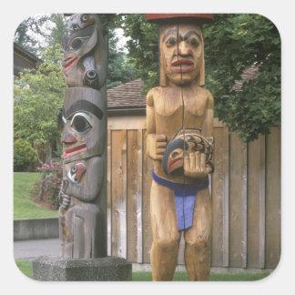 N.A., Canada, Colombie-Britannique, Vancouver 2 Sticker Carré