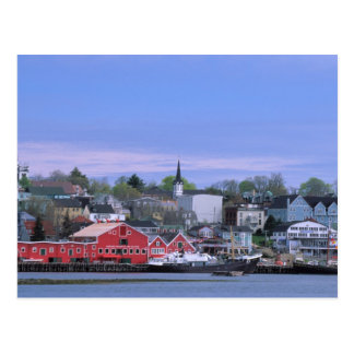 N.A. Canada, Nova Scotia. A view of Lunenburg, a Postcard