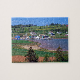 N.A. Canada, Prince Edward Island. Boats are Jigsaw Puzzle