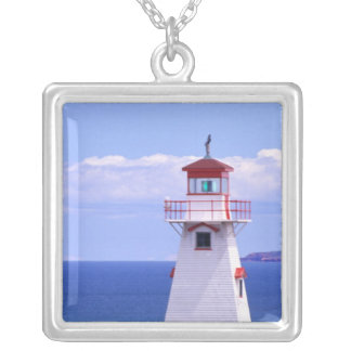 N.A. Canada, Prince Edward Island. Cape Tryon Silver Plated Necklace