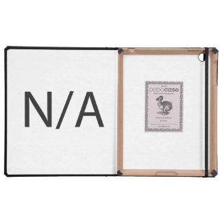 N/A iPad COVERS