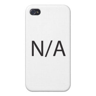 N/A CASES FOR iPhone 4