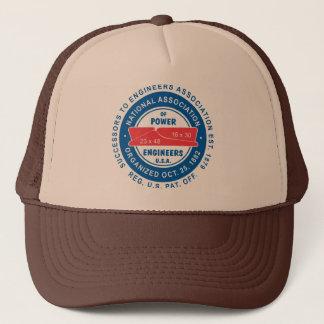 N.A.P.E. Tan/Brown Trucker Hat