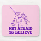 N.A.U.B Not Afraid To Believe Unicorn Mouse Pad