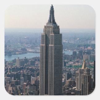 N.A., USA, New York, New York City. The Empire Square Sticker