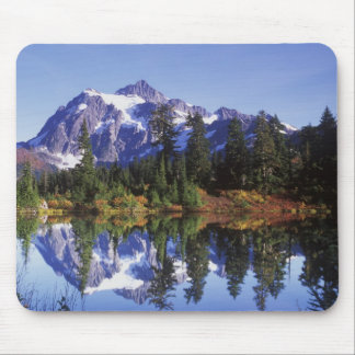 N.A., USA, Washington, Mt. Baker & Snoqualmie Mouse Pad