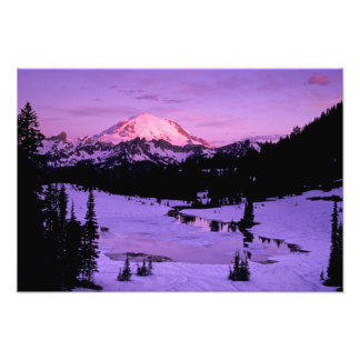 N.A., USA, Washington, Mt. Rainier National 2 Photo Print
