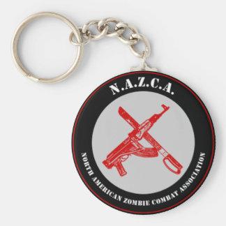 N.A.Z.C.A. Seal Keychain