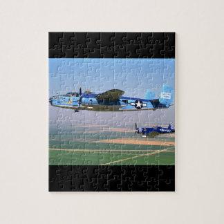 N. American, B-25, 1943_Classic Aviation Jigsaw Puzzle