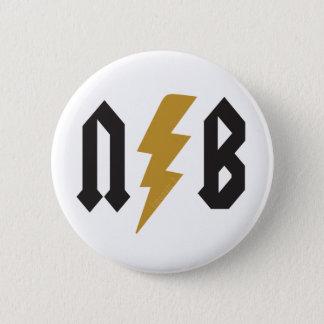 N.B. Lightning 2 Inch Round Button