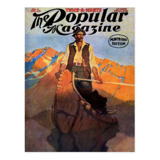N. C. Wyeth - Popular Magazine, November 1909  Pos Postcard