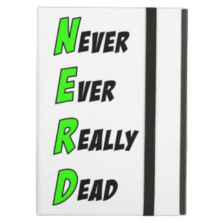 N.E.R.D iPad Case (Green)