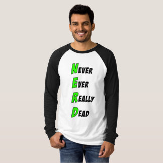 N.E.R.D Long Sleeve Shirt (Green)