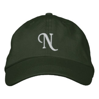 N EMBROIDERED HAT