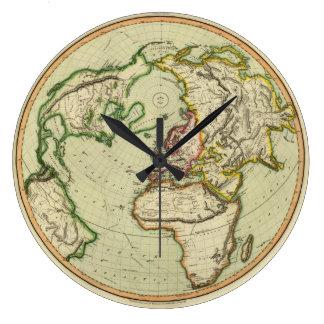 N. Hemisphere, plane of London. Large Clock