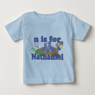 N is for Nathaniel Baby T-Shirt
