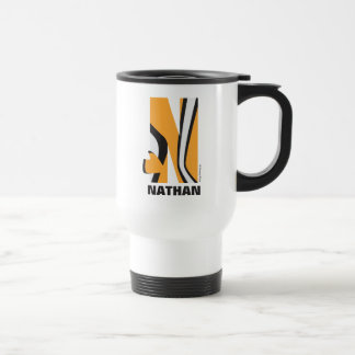 N is for Nemo | Add Your Name Travel Mug