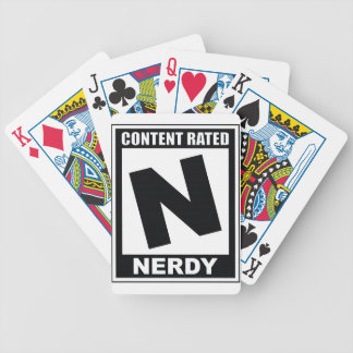 N is for Nerdy Bicycle Playing Cards