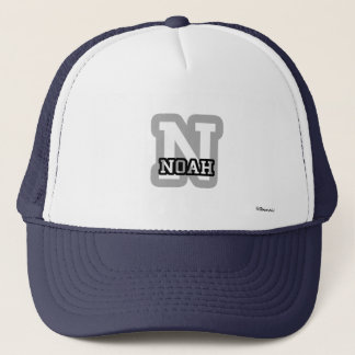 N is for Noah Trucker Hat