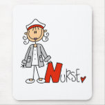 N is for Nurse Mouse Pad