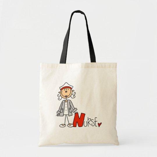 N is for Nurse Tote Bag
