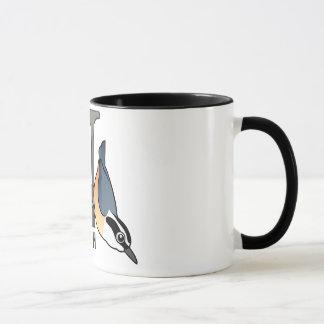 N is for Nuthatch Mug