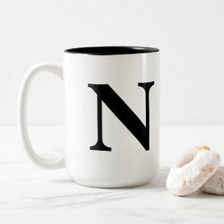 """""""N"""" mug"""