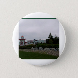 N S Welcome Centre 2 Inch Round Button