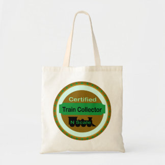 N Scale Train Collector Tote Bag