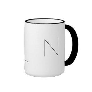 N THE MINIMALIST VIEW COFFEE MUGS
