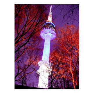 N Tower Seoul Postcard