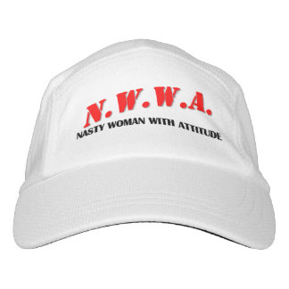 N.W.W.A. - Nasty Woman With Attitude Hat
