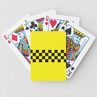N.Y.C. Cab Bicycle Poker Playing Cards