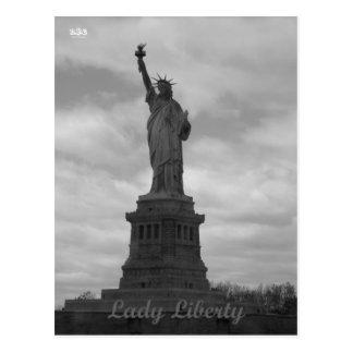 N.Y.E Lady Liberty Postcard