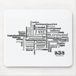 N.Y.E Pick a Word Mouse Pad