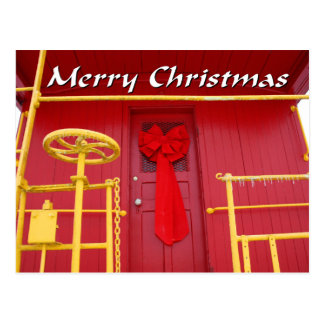 NA138.Merry Christmas.7x5. Postcard