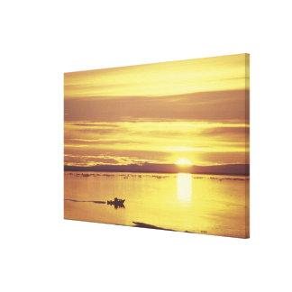 NA, Canada, Canadian Arctic, Baffin Island Stretched Canvas Print