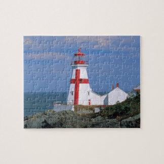 NA, Canada, New Brunswick, Campobello Island. Jigsaw Puzzle