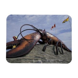 NA, Canada, New Brunswick, Shediak, World's Rectangular Photo Magnet