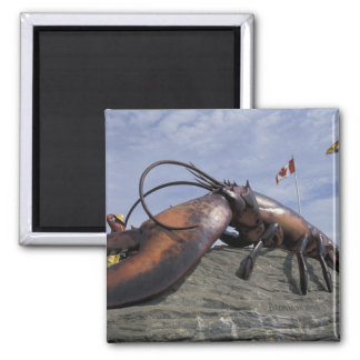 NA, Canada, New Brunswick, Shediak, World's Square Magnet