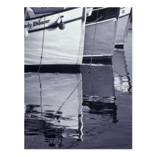 NA, Canada, Nova Scotia, Digby. Fishing boats; Postcard