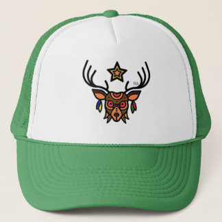 NA- Deer head Trucker Hat