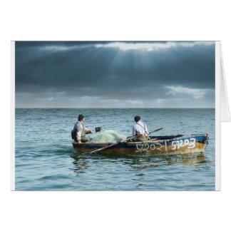 Na Galileia de Pescadores de Homens Carte De Vœux